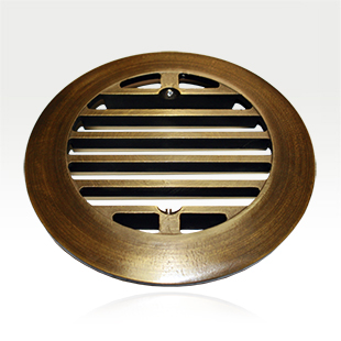Brass Well Light Cover