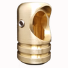 Polished Brass Elbow